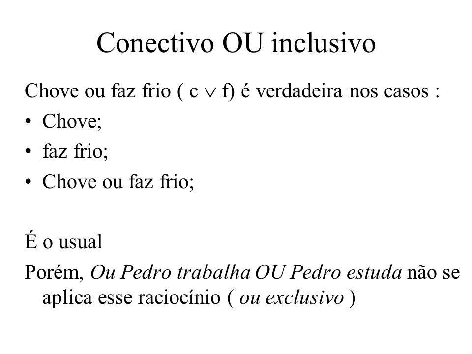 Conectivo OU inclusivo