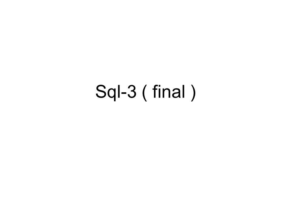 Sql-3 ( final )