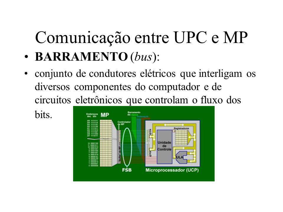 Comunicação entre UPC e MP