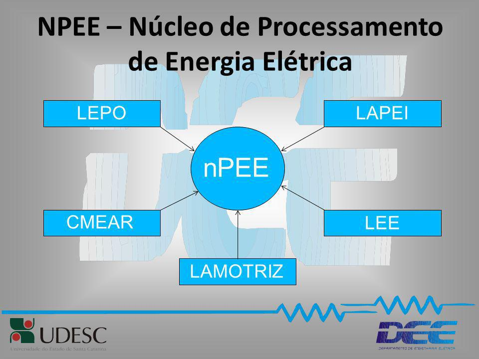 NPEE – Núcleo de Processamento de Energia Elétrica