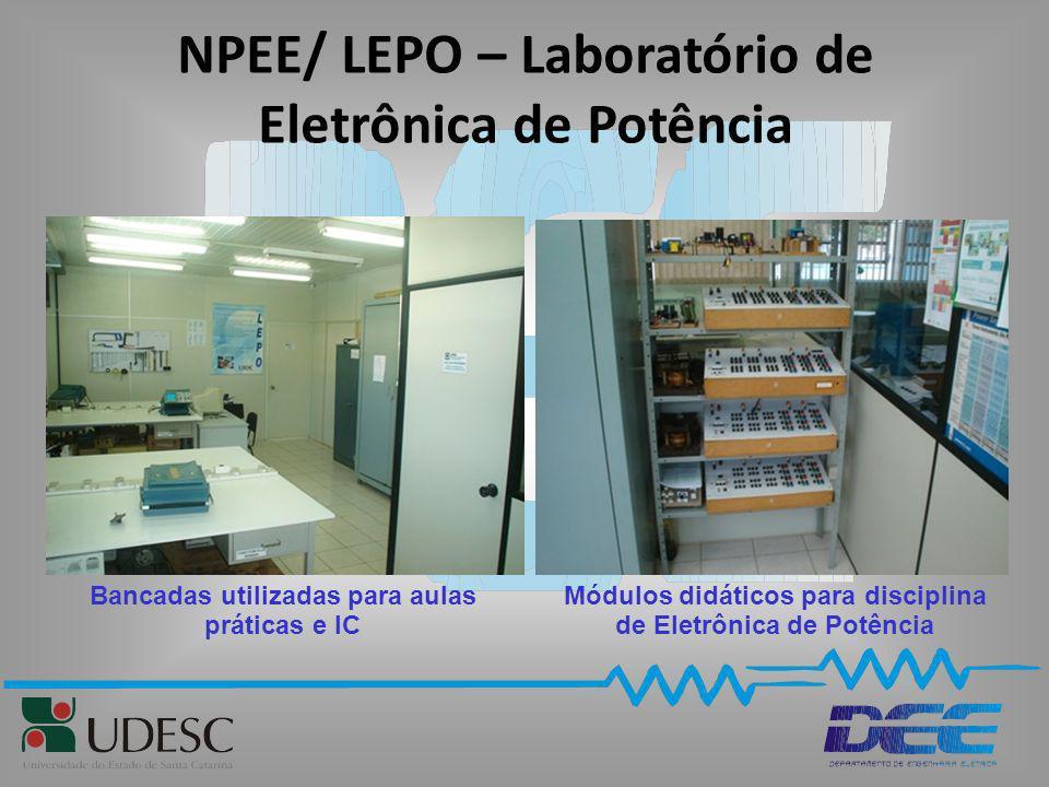 NPEE/ LEPO – Laboratório de Eletrônica de Potência