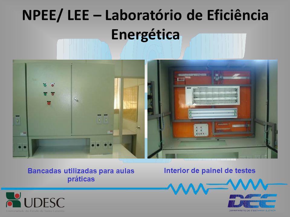 NPEE/ LEE – Laboratório de Eficiência Energética