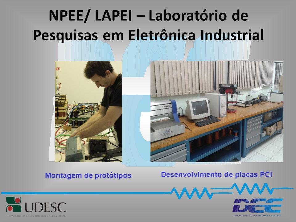 NPEE/ LAPEI – Laboratório de Pesquisas em Eletrônica Industrial