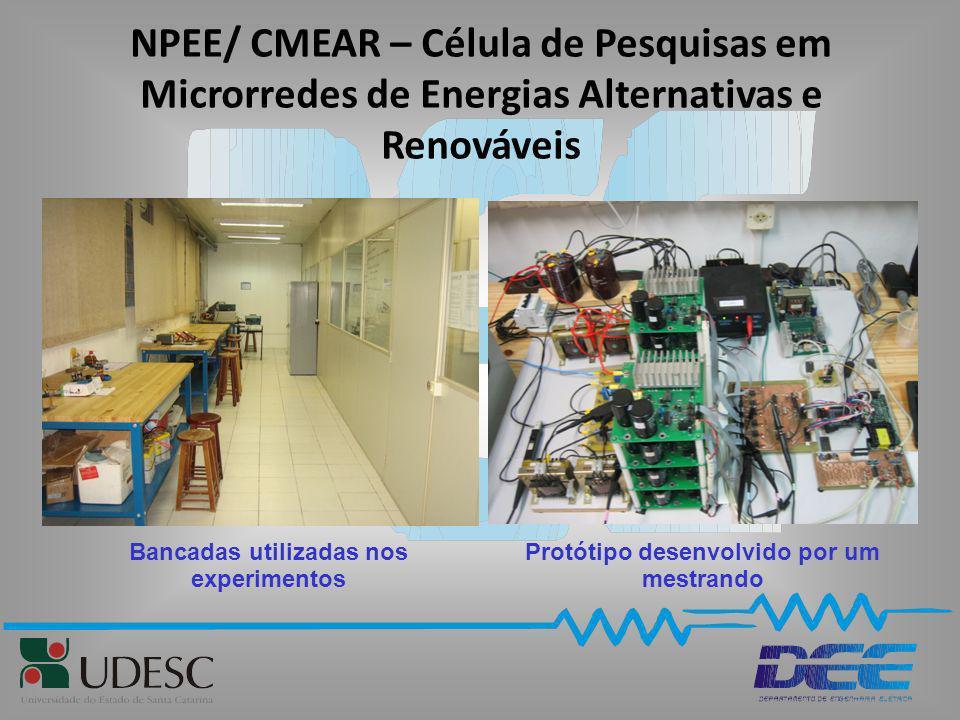 NPEE/ CMEAR – Célula de Pesquisas em Microrredes de Energias Alternativas e Renováveis