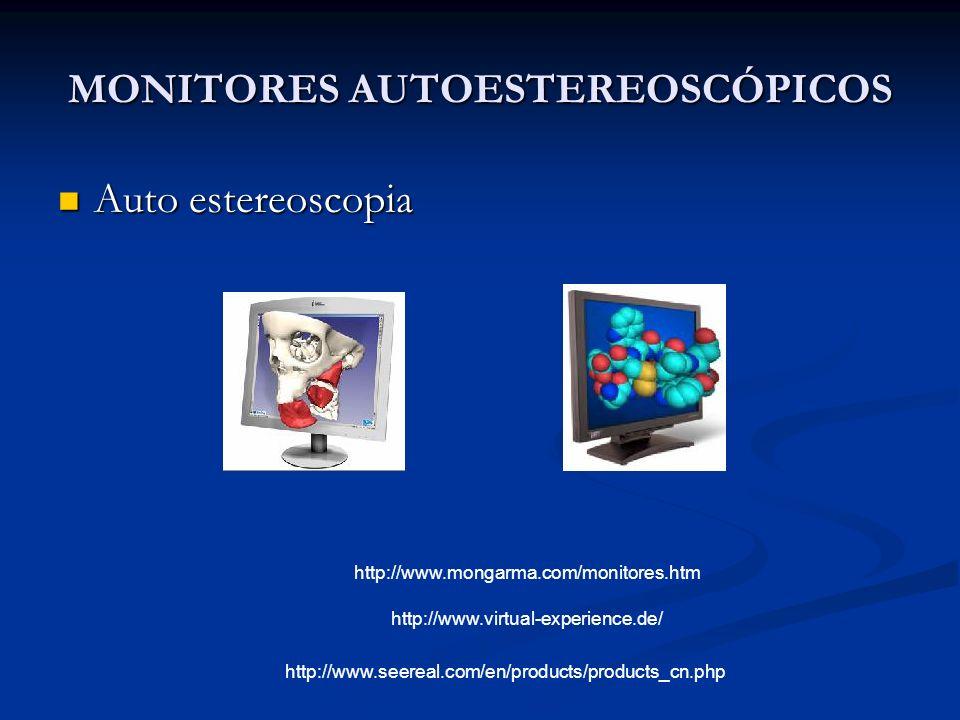 MONITORES AUTOESTEREOSCÓPICOS