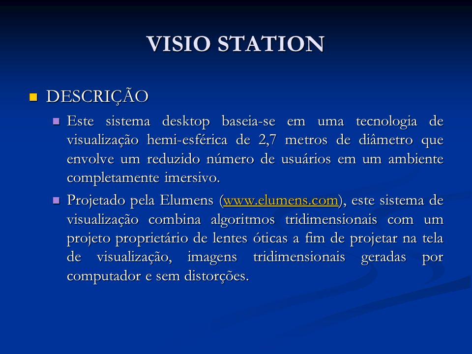 VISIO STATION DESCRIÇÃO