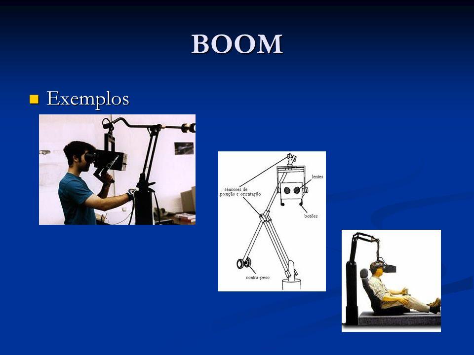 BOOM Exemplos