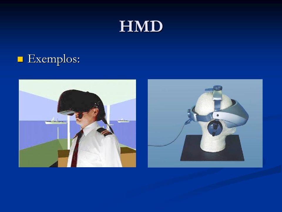 HMD Exemplos: