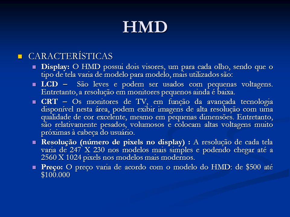 HMD CARACTERÍSTICAS.