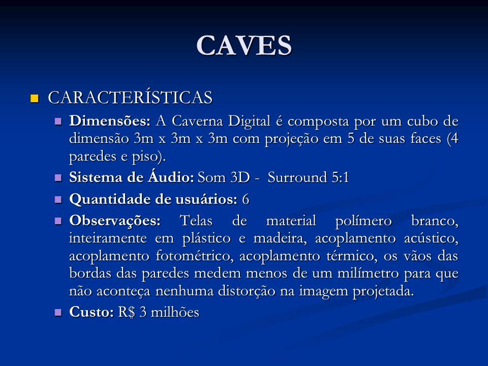CAVES CARACTERÍSTICAS