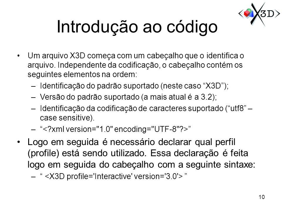 Introdução ao código