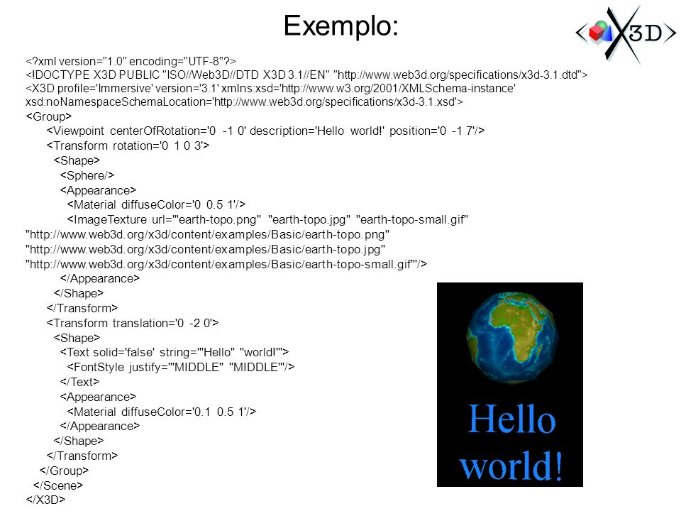 Exemplo: <Group>