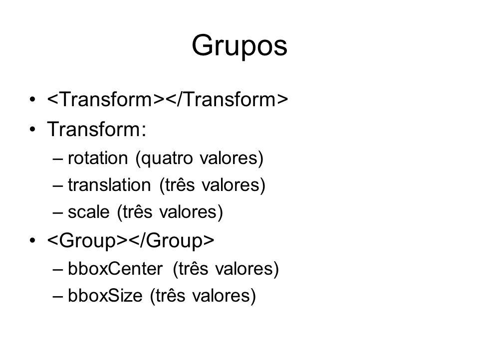 Grupos <Transform></Transform> Transform: