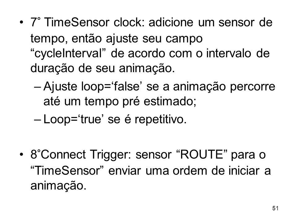 Ajuste loop='false' se a animação percorre até um tempo pré estimado;
