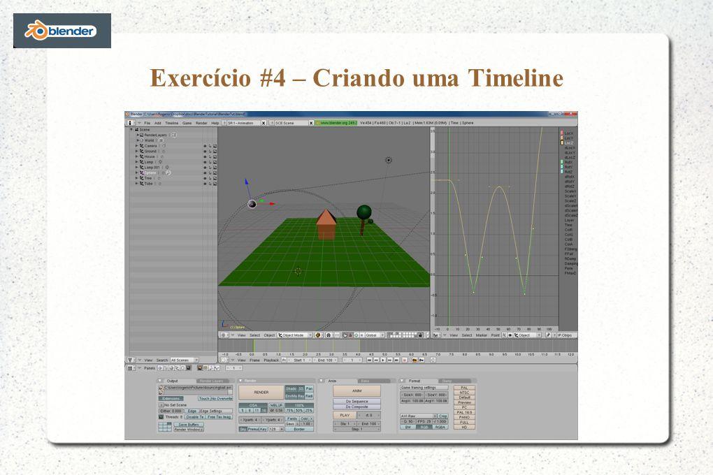 Exercício #4 – Criando uma Timeline