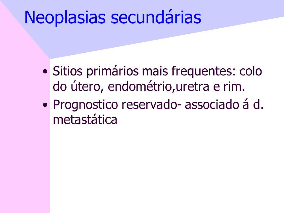 Neoplasias secundárias