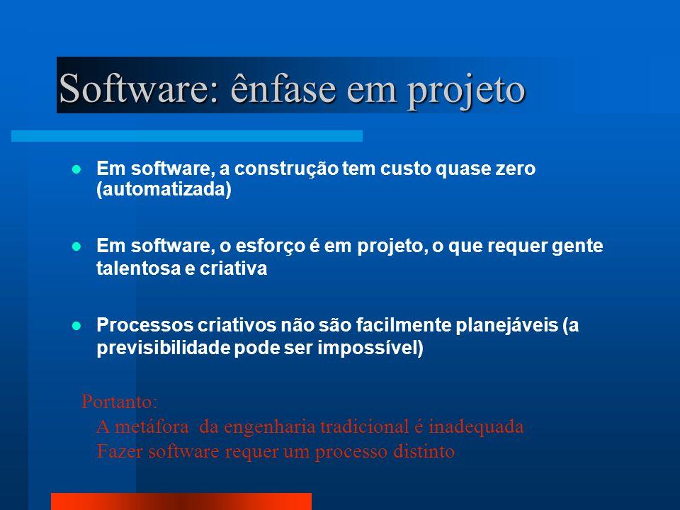 Software: ênfase em projeto