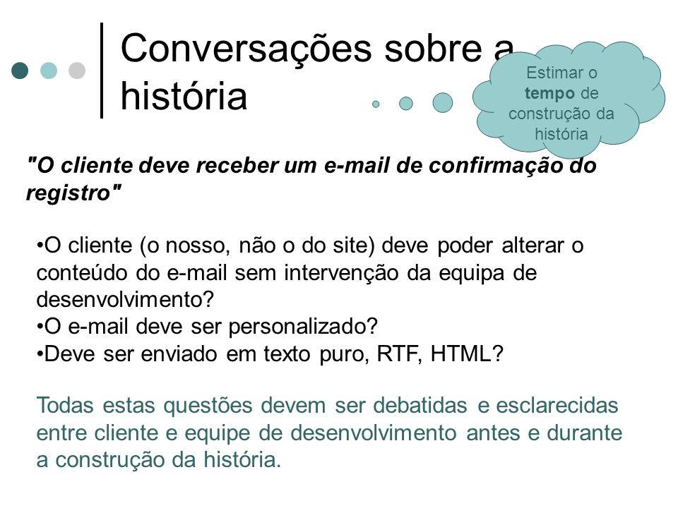 Conversações sobre a história