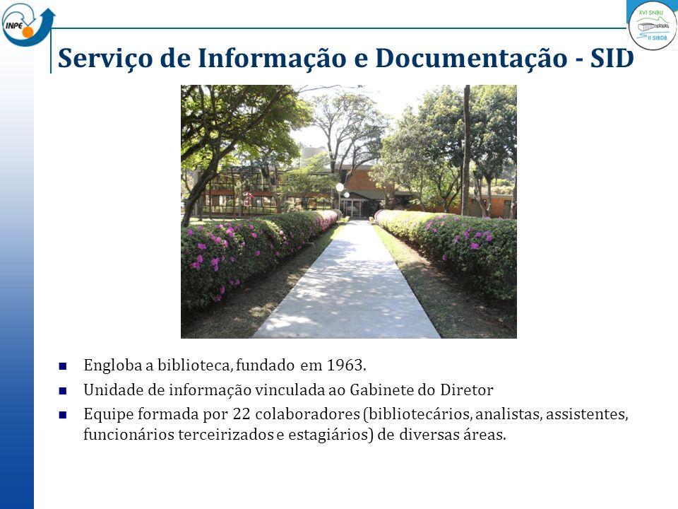 Serviço de Informação e Documentação - SID