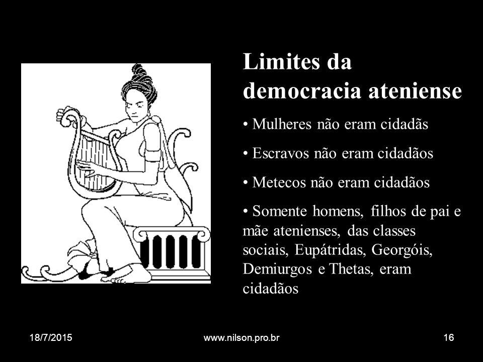 Limites da democracia ateniense