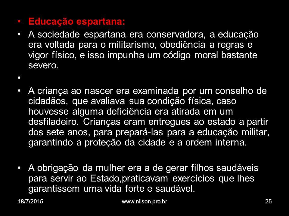 Educação espartana: