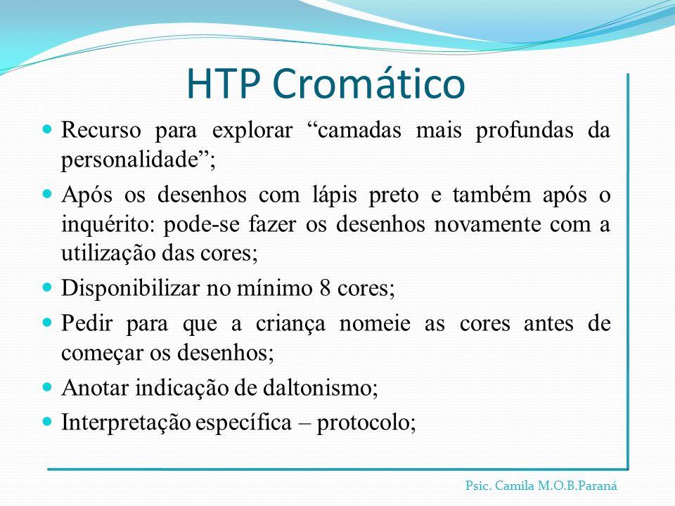 HTP Cromático Recurso para explorar camadas mais profundas da personalidade ;