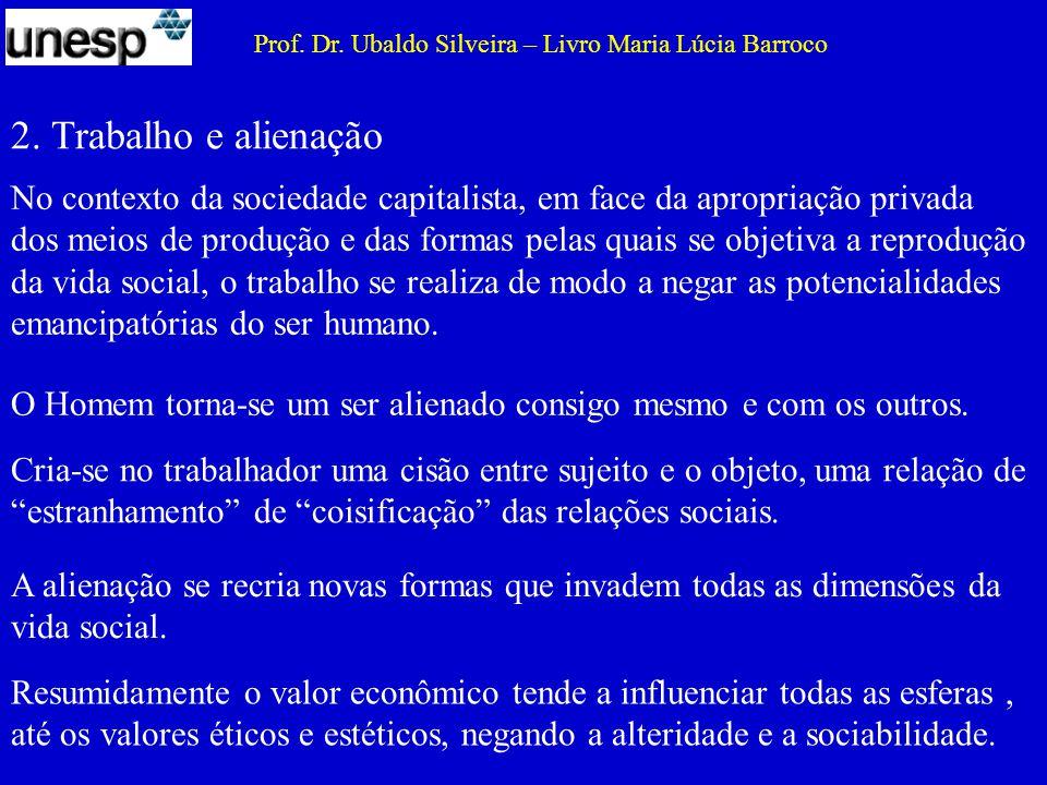 Prof. Dr. Ubaldo Silveira – Livro Maria Lúcia Barroco