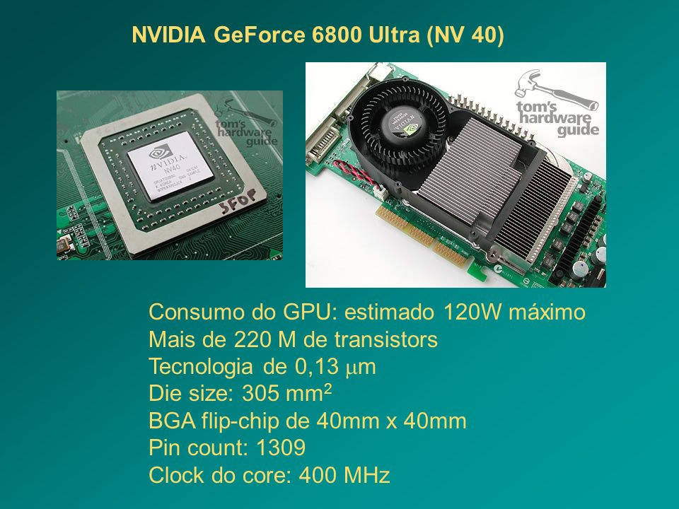 NVIDIA GeForce 6800 Ultra (NV 40)