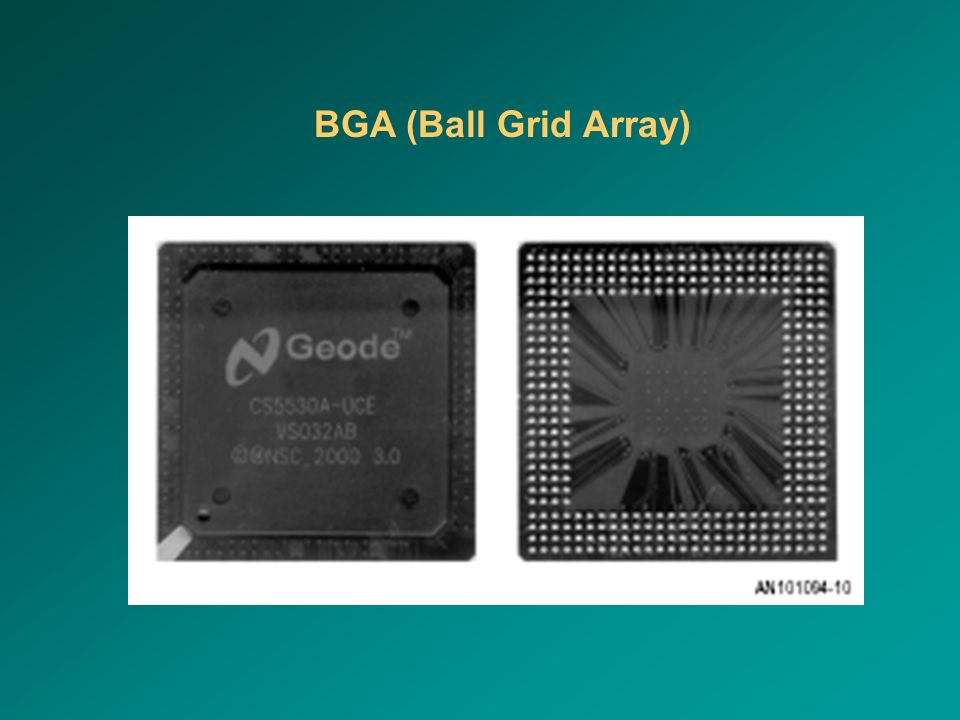 BGA (Ball Grid Array)