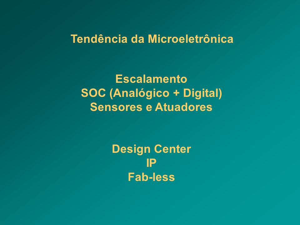 SOC (Analógico + Digital)