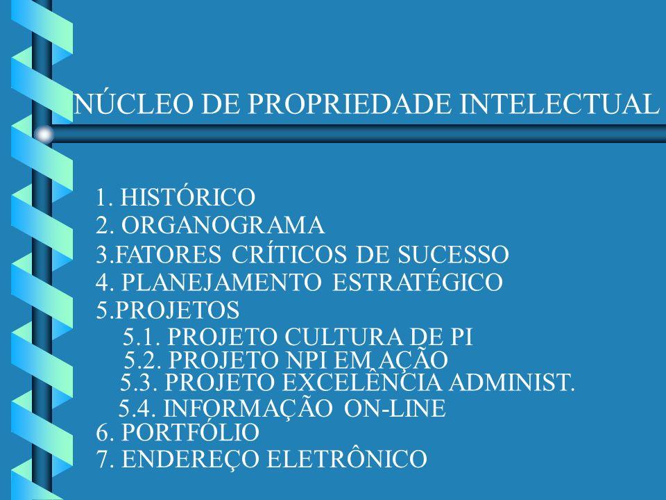NÚCLEO DE PROPRIEDADE INTELECTUAL