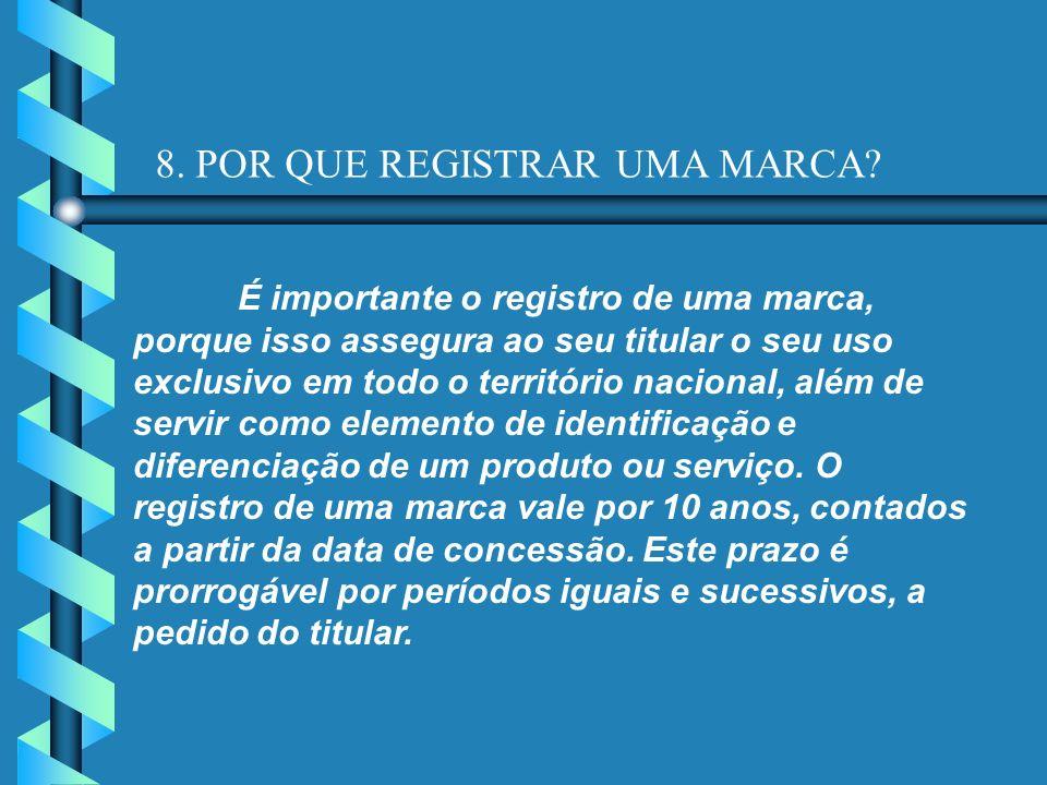 8. POR QUE REGISTRAR UMA MARCA