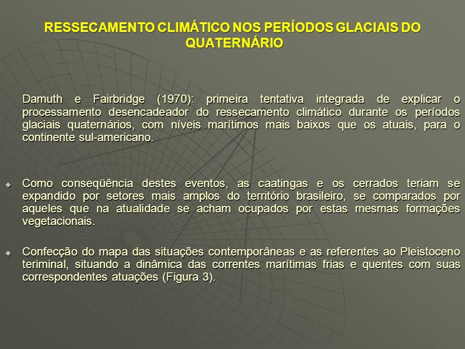 RESSECAMENTO CLIMÁTICO NOS PERÍODOS GLACIAIS DO QUATERNÁRIO