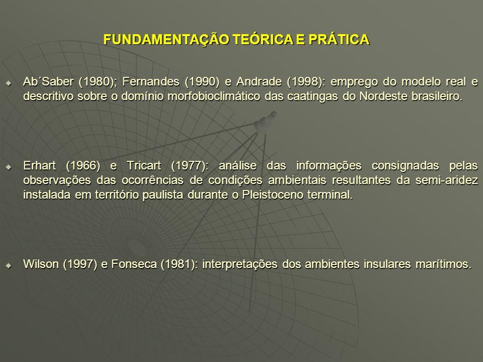 FUNDAMENTAÇÃO TEÓRICA E PRÁTICA