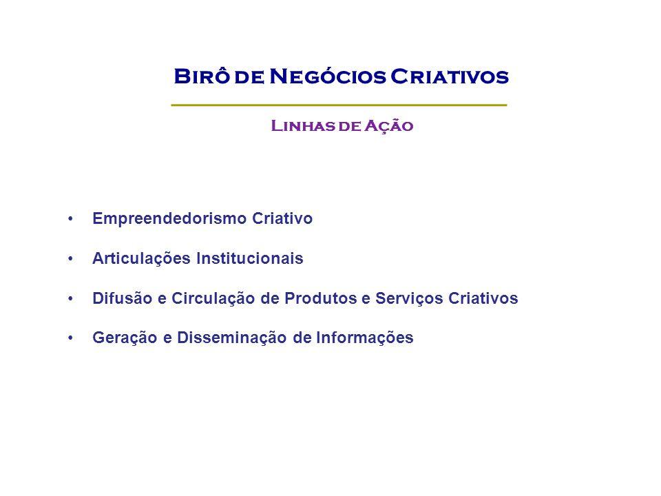 Birô de Negócios Criativos