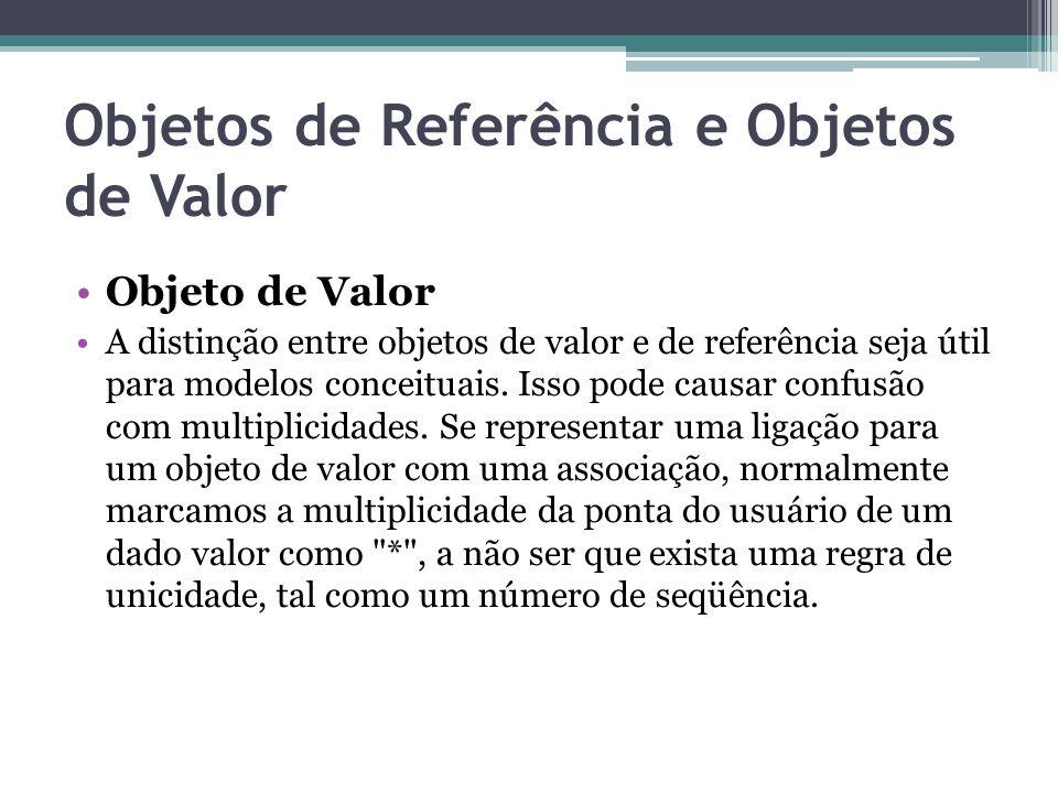 Objetos de Referência e Objetos de Valor