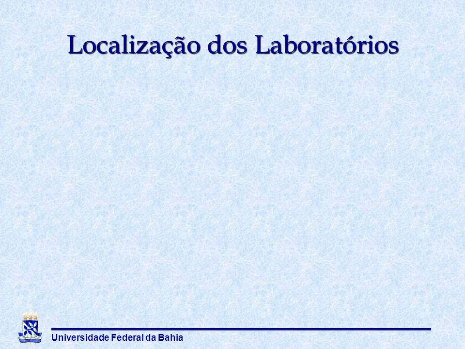 Localização dos Laboratórios