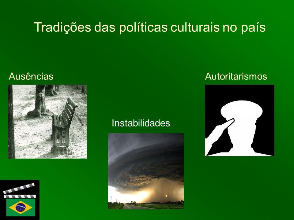 Tradições das políticas culturais no país