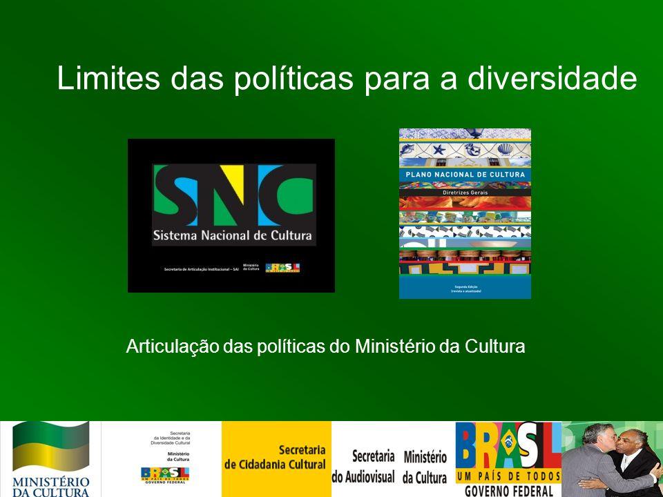 Limites das políticas para a diversidade