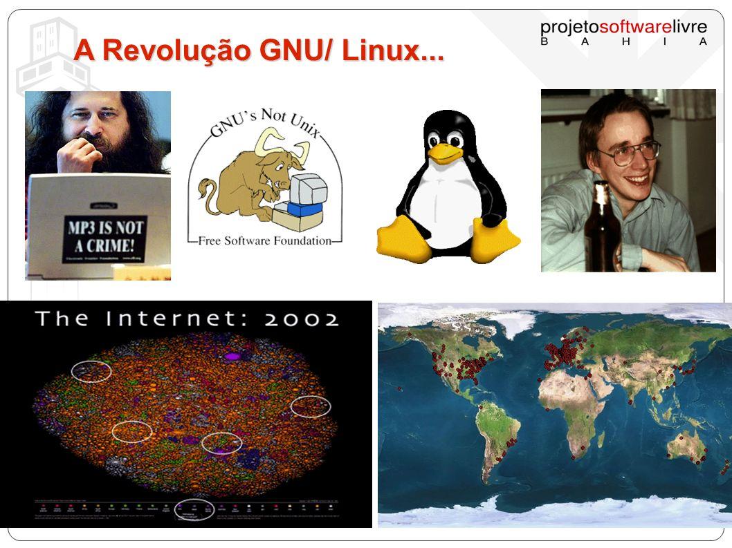 A Revolução GNU/ Linux...