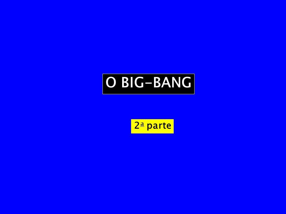 O BIG-BANG 2a parte