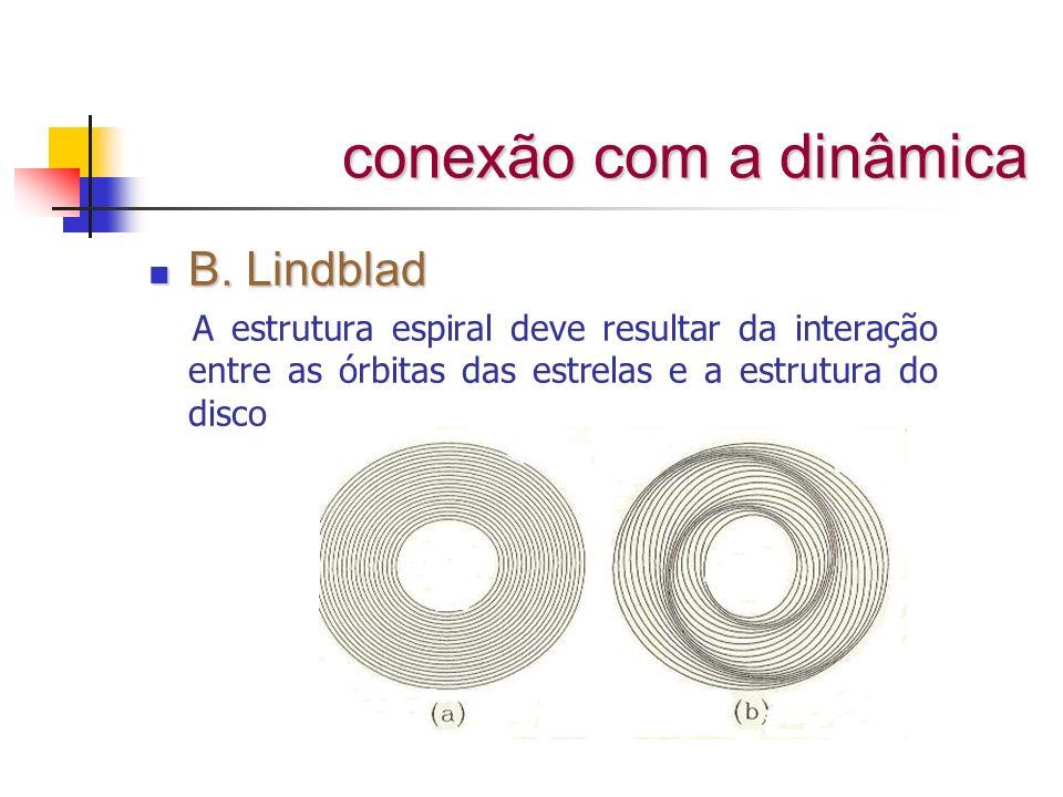 conexão com a dinâmica B. Lindblad
