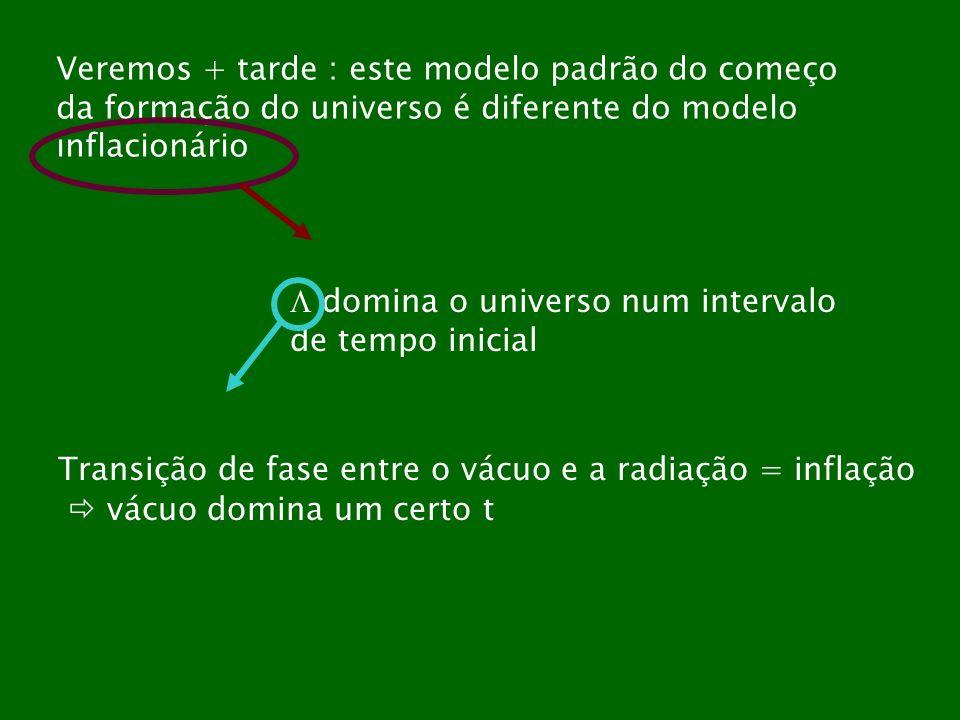 Veremos + tarde : este modelo padrão do começo
