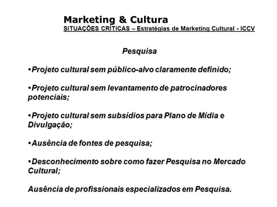 Marketing & Cultura Pesquisa