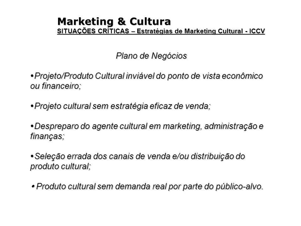 Marketing & Cultura Plano de Negócios