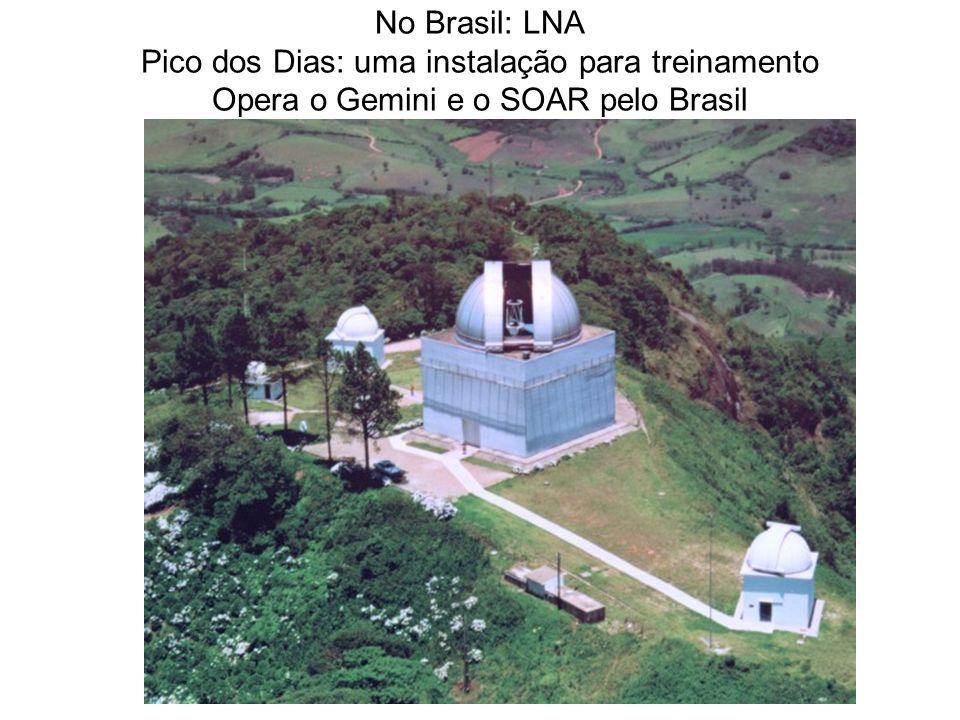No Brasil: LNA Pico dos Dias: uma instalação para treinamento Opera o Gemini e o SOAR pelo Brasil