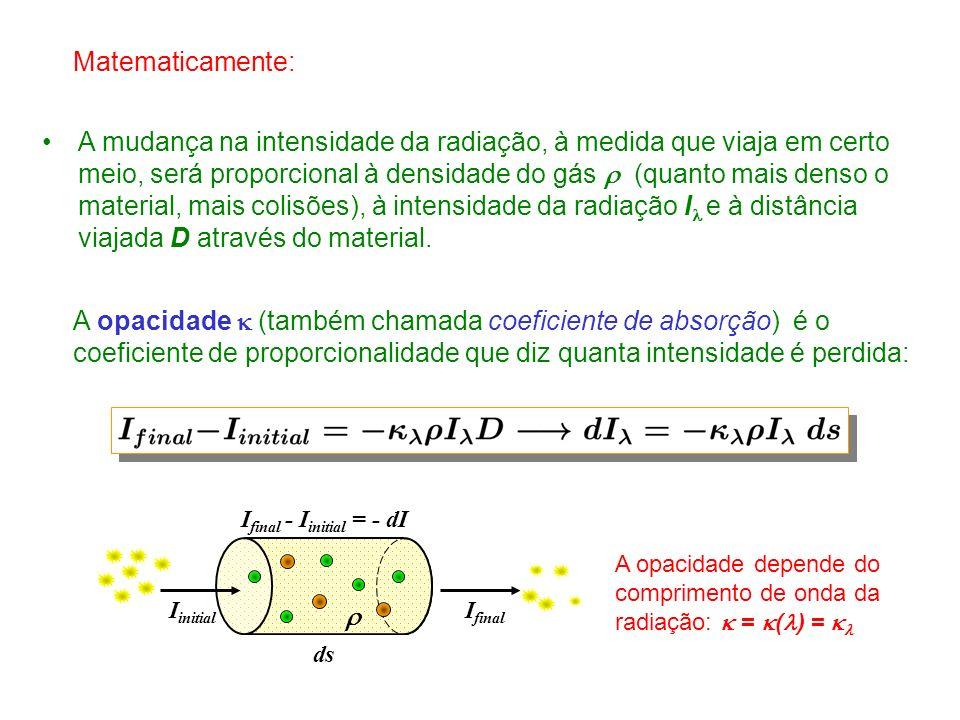 Matematicamente: