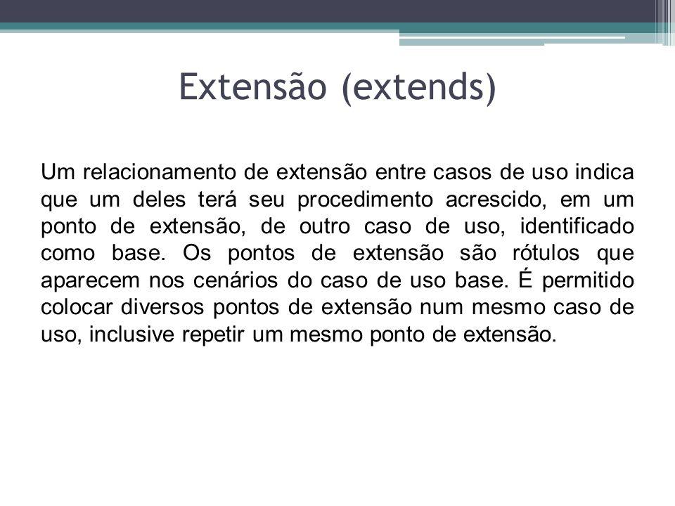 Extensão (extends)