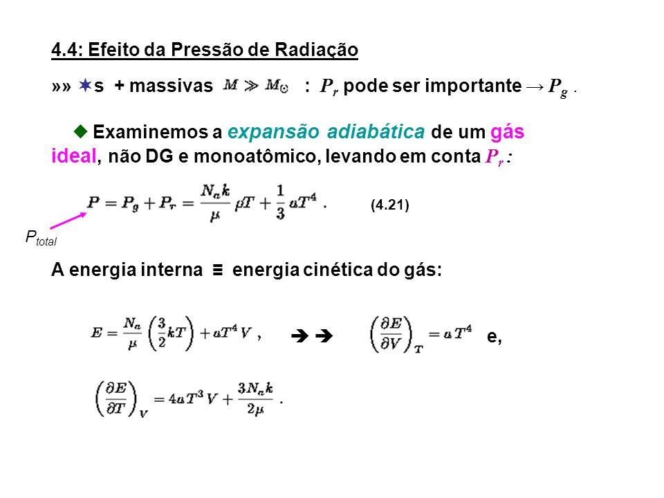 4.4: Efeito da Pressão de Radiação