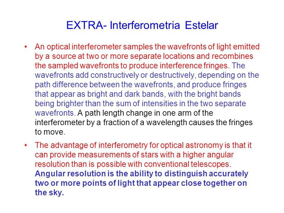 EXTRA- Interferometria Estelar
